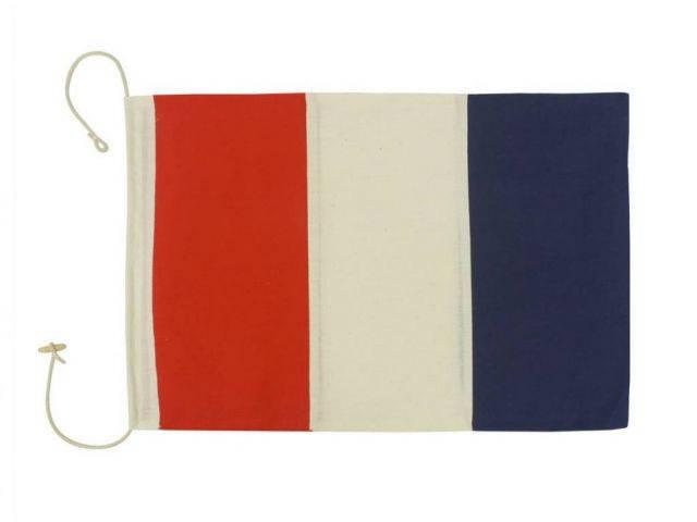 Letter T Cloth Nautical Alphabet Flag Decoration 20