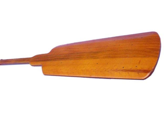 Wooden Barrington Squared Decorative Rowing Boat Oar w- Hooks 36