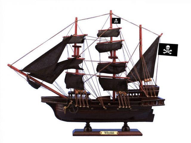 Wooden Whydah Gally Black Sails Pirate Ship Model 15