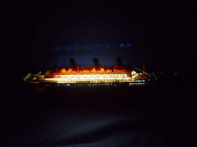Queen Mary Limited 30 w- LED Lights Model Cruise Ship