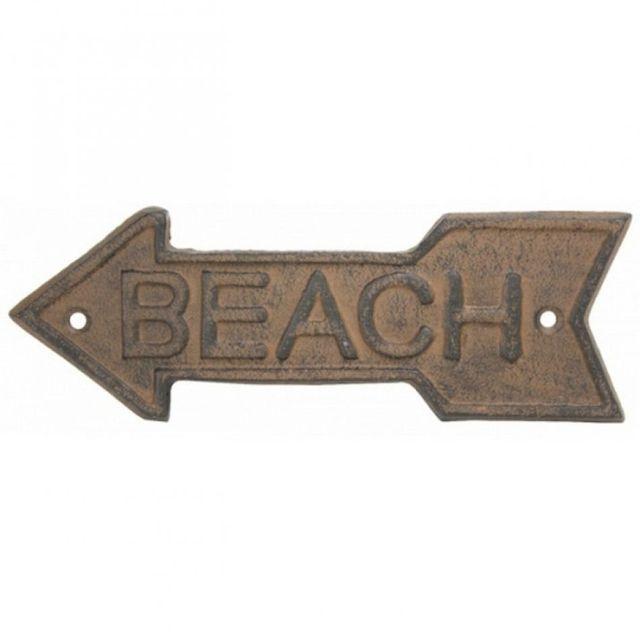 Rustic Iron Beach Arrow Sign 10