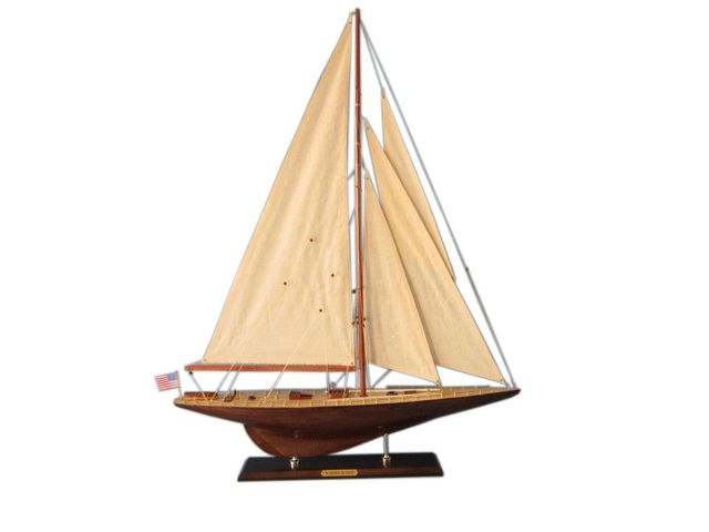 Wooden Whirlwind Limited Model Sailboat Decoration 35
