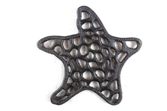 Cast Iron Starfish Trivet 7