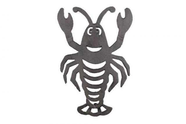 Cast Iron Lobster Trivet 11
