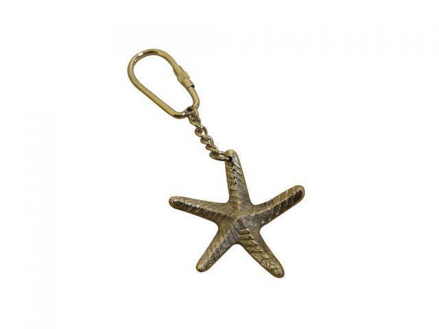Chrome Starfish Key Chain 5