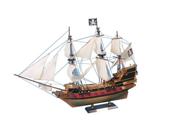 Calico Jacks The William Model Pirate Ship 36 - White Sails