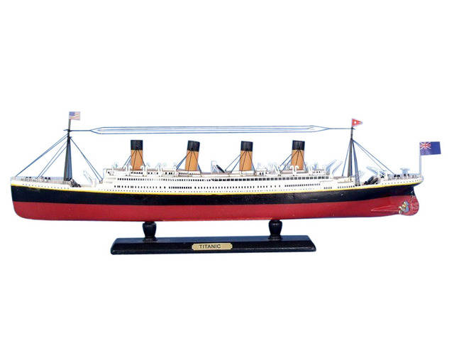 RMS Titanic Limited Model Cruise Ship 15