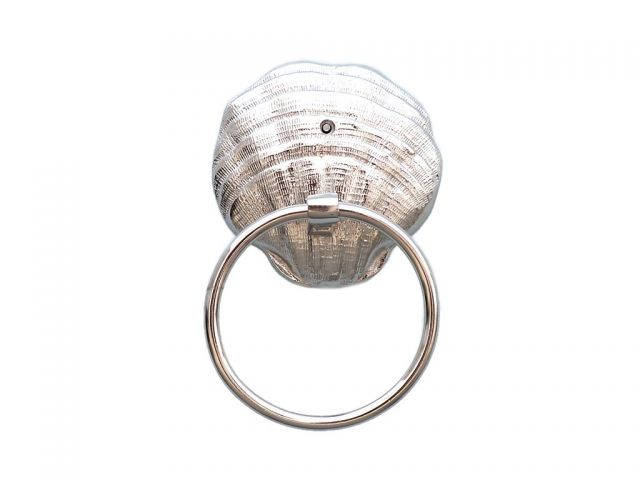 Chrome Seashell Towel Holder 9