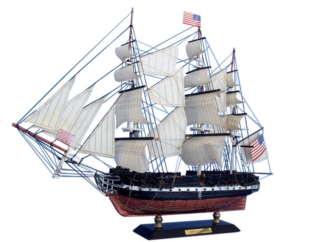 USS Constitution Limited Tall Model Ship 15