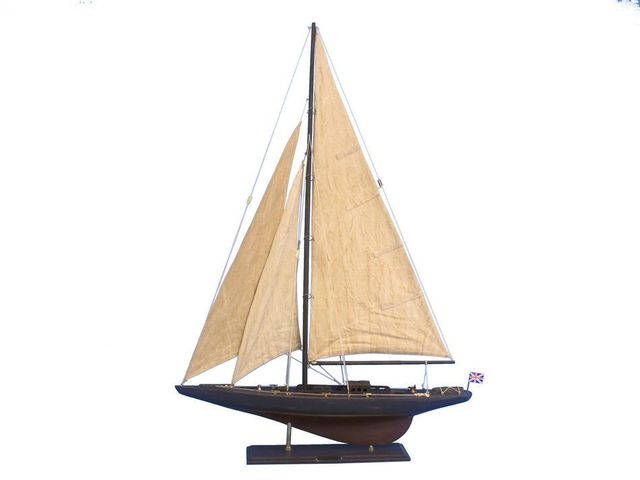Wooden Vintage Endeavour Limited Model Sailboat Decoration 35