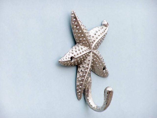 Chrome Starfish Hook 5