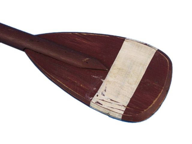 Wooden Chadwick Decorative Rowing Boat Paddle with Hooks 24