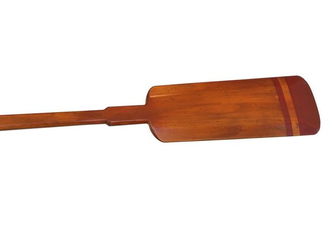 Wooden Santa Cruz Squared Decorative Rowing Boat Oar 50