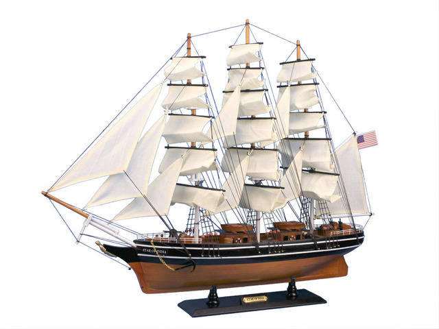 Wooden Star Of India Tall Model Ship 30