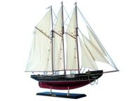 Buy Wooden Atlantic Limited Model Sailboat 25in - Model Ships
