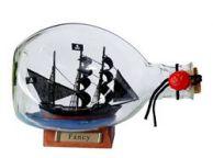Henry Averys Fancy Pirate Ship in a Glass Bottle 7