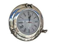 Chrome Decorative Ship Porthole Clock 15
