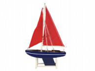 Wooden It Floats American Sea Model Sailboat 12