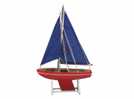 Wooden It Floats American Anchor Model Sailboat 12