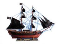 Wooden Blackbeards Queen Annes Revenge Limited Model Pirate Ship 36