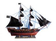 Wooden Black Barts Royal Fortune Limited Model Pirate Ship 36
