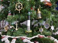 Oak Island Lighthouse Christmas Tree Ornament