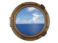 Bronzed Decorative Ship Porthole Window 20