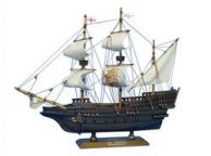 Wooden Elizabethan Galleon Tall Model Ship 14