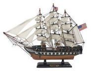 Wooden USS Constitution Limited Tall Ship Model 15