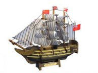 Wooden HMS Victory Tall Model Ship 7