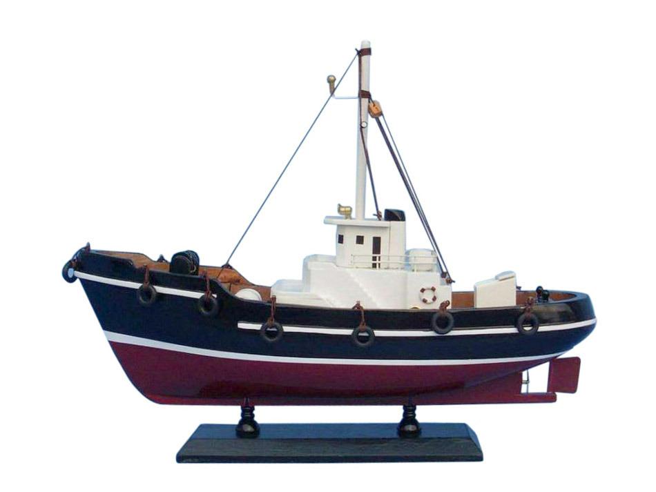 Buy Wooden Drift Wood Model Fishing Boat 14in Model Ships