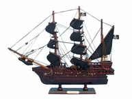 Wooden Edward Englands Pearl Model Pirate Ship 14