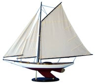 Wooden Bermuda Sloop Decoration 40