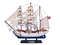 Wooden Christian Radich Tall Model Ship 14