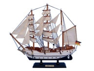 Wooden Gorch Fock Tall Model Ship 14