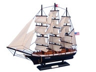 """Wooden Flying Cloud Tall Model Clipper Ship 24"""" picture"""