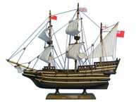 Wooden Mayflower Tall Model Ship 14