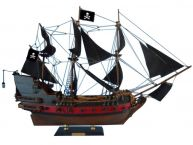 "Black Pearl Pirates of the Caribbean Limited Model Ship 24"" - Black Sails"