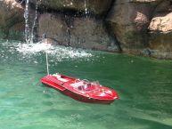 "Ready To Run Remote Control Aquarama Model Speed Boat 18"" picture"