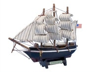 """Wooden Star of India Tall Model Ship 7"""" picture"""