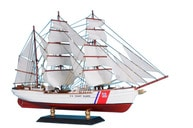 United States Coast Guard (USCG) Eagle Limited Tall Model Ship 15