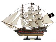 Wooden John Halseys Charles White Sails Limited Model Pirate Ship 26
