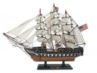 Wooden USS Constitution Limited Tall Ship Model 15 picture