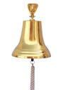 Brass Hanging Ship's Bell 18
