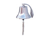 "Chrome Hanging Harbor Bell 10"" is fully assembled"