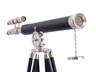 Floor Standing Chrome/Leather Griffith Astro Telescope 64