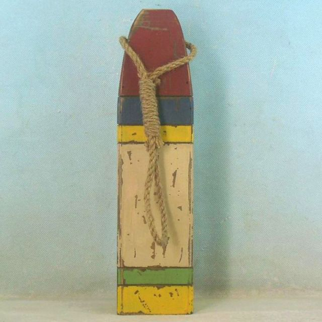 Wooden Multi-Color Buoy 16