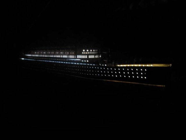 RMS Mauretania Limited Model Cruise Ship 40 w- LED Lights