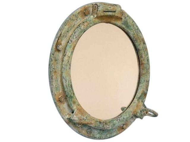 Titanic Shipwrecked Porthole Mirror 20