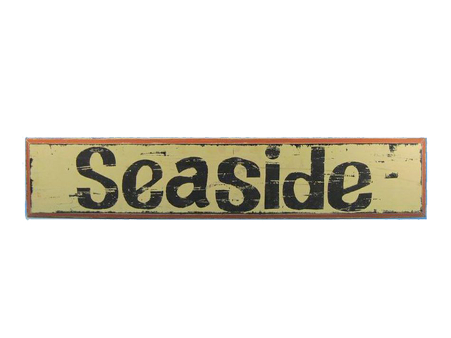 Wooden Seaside Nautical Plaque 36